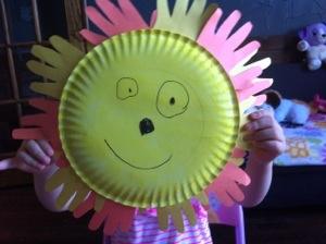 MOMMY Monday : Handprint SunCraft