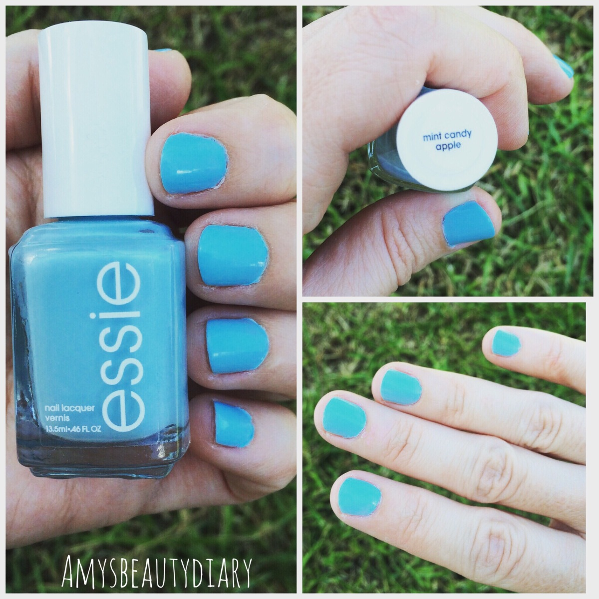 The Perfect Blue Nail for Summer