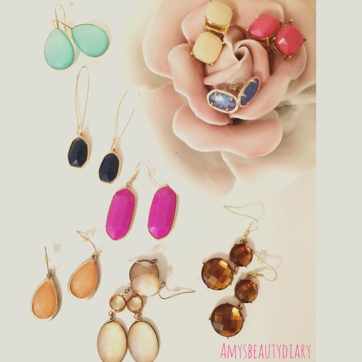 Earring Envy :Gemstones
