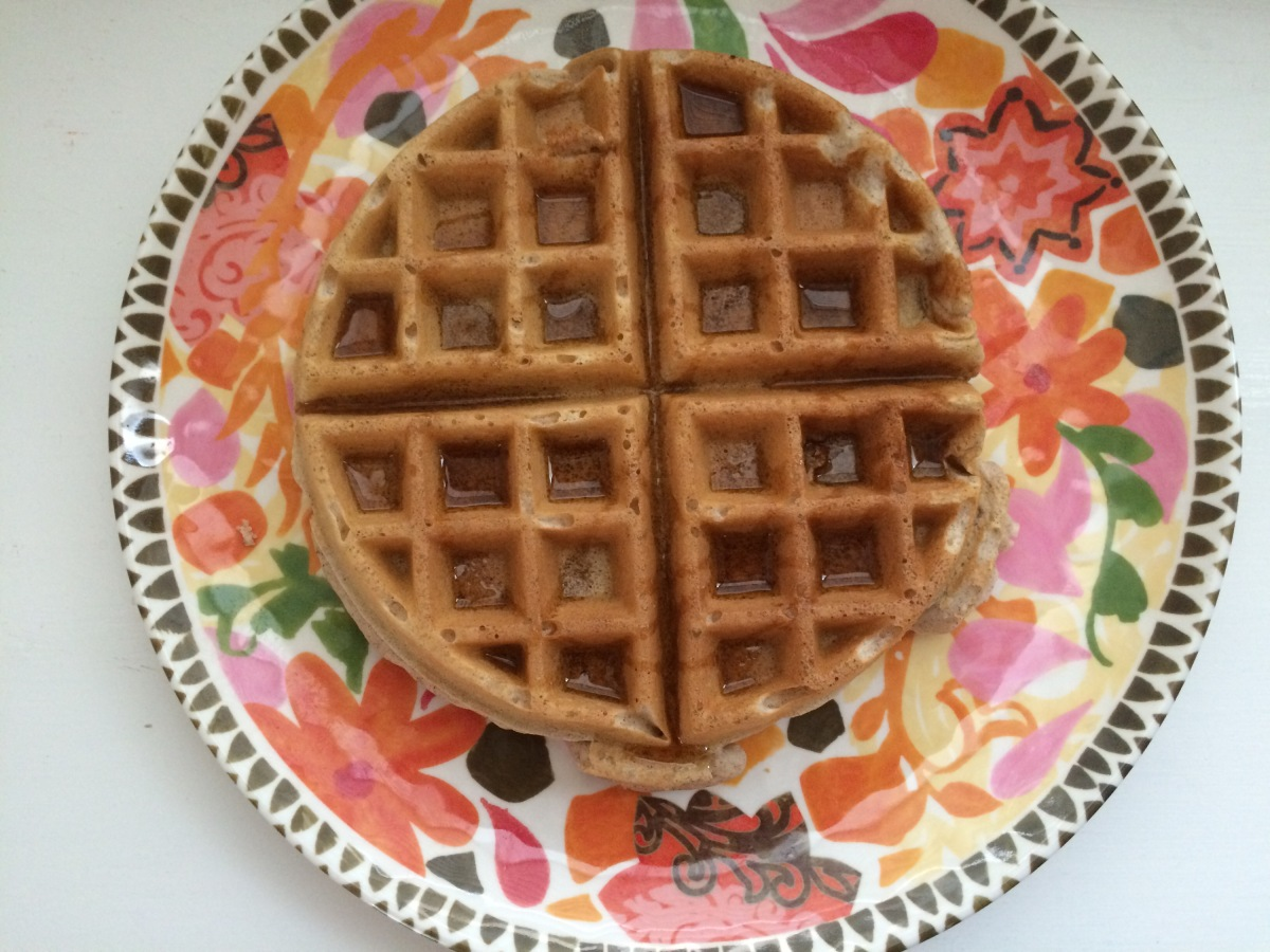EAT | Cinnamon Waffles for the Weekend