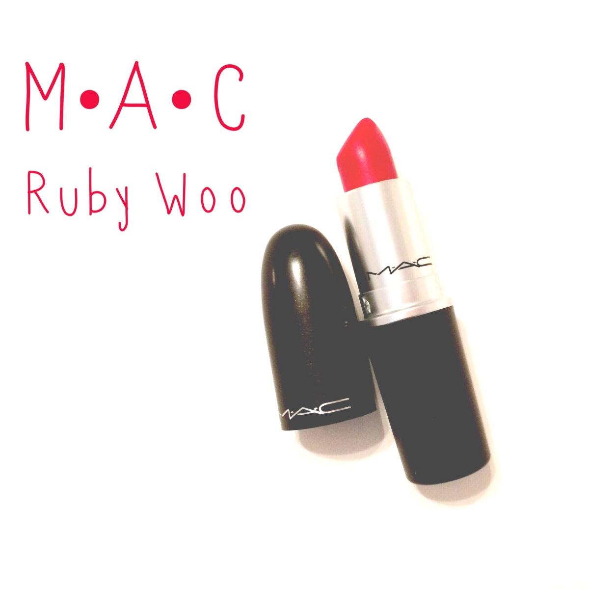 MAC Ruby Woo Lipstick +Dupe