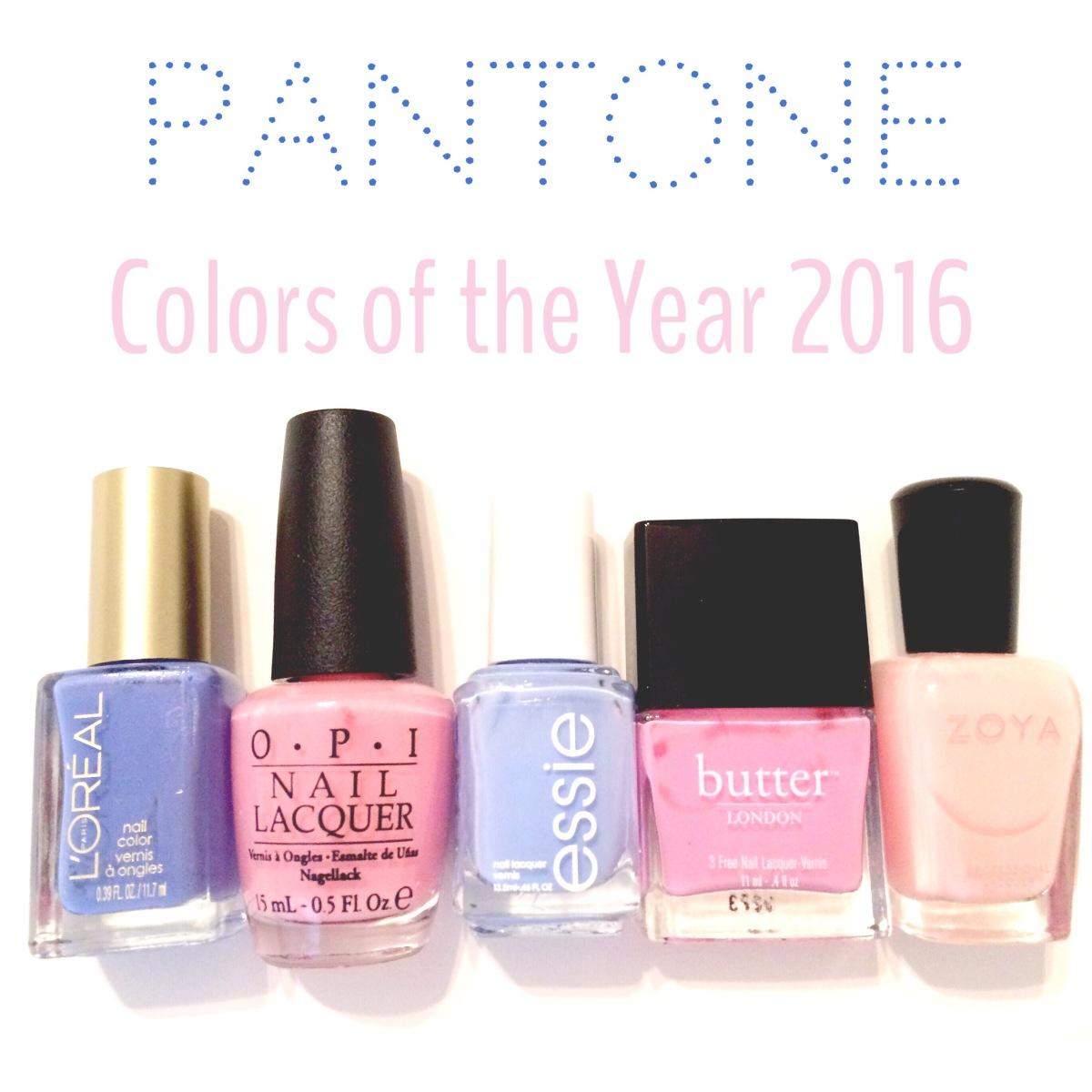 Pantone Colors 2016 | Nail PolishPicks