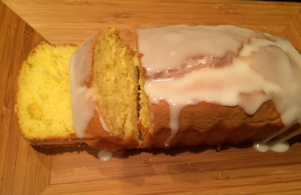 EAT | Glazed Lemon Pound Cake