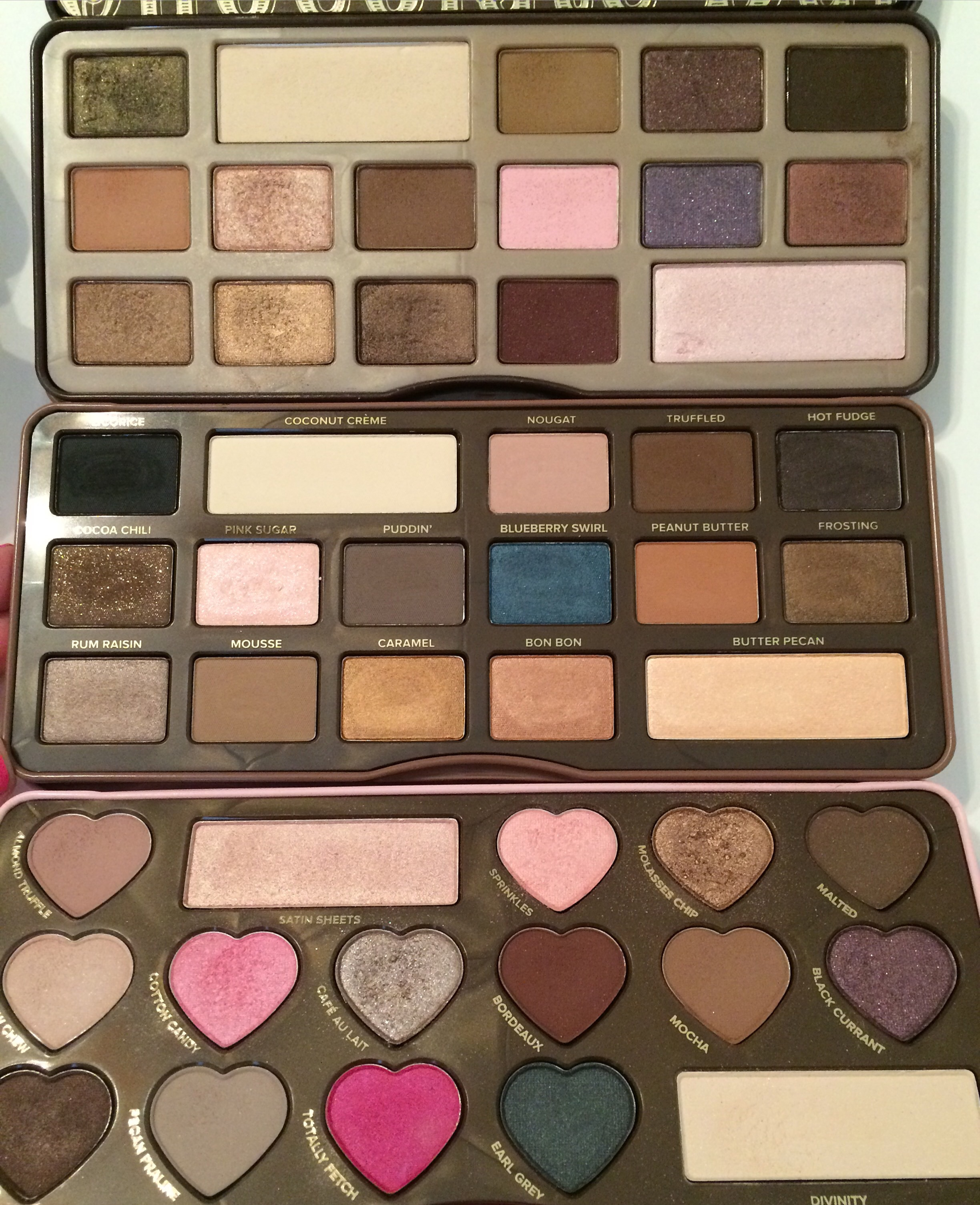 Too Faced Semi Sweet Chocolate Bar Palette Review Swatches