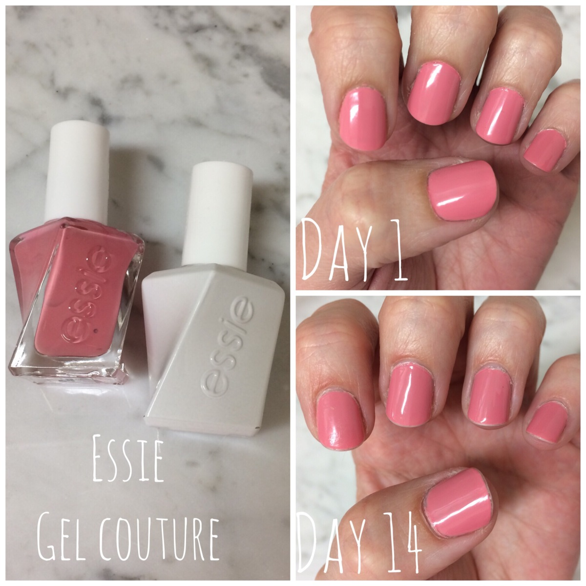 Gel Nails at Home | Essie Gel Couture – 14 Day WearTest