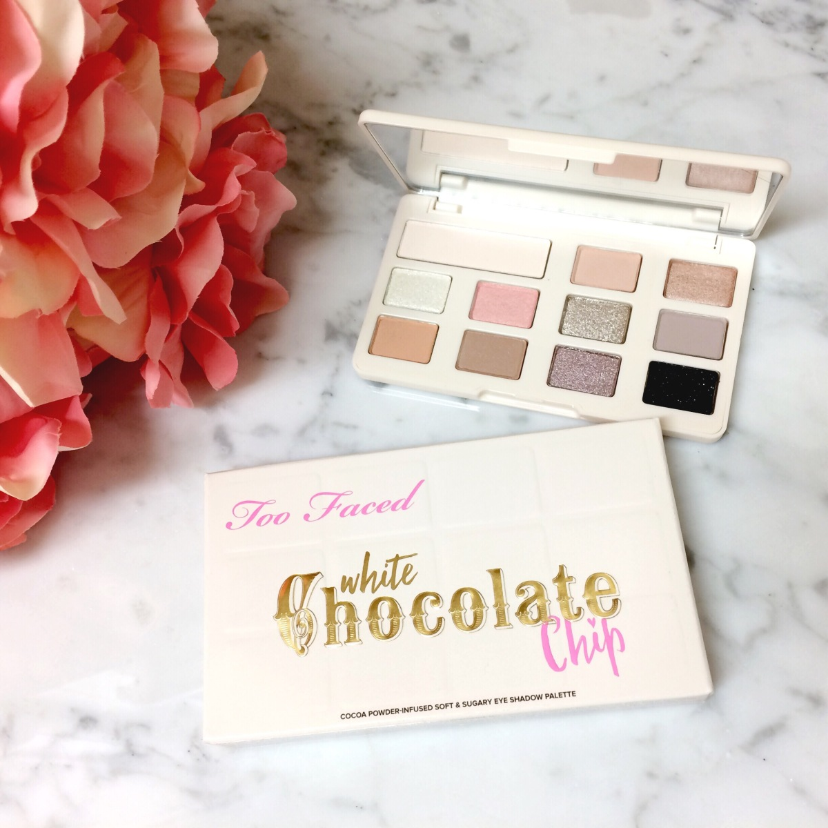 NEW | Too Faced White Chocolate Chip Palette |Review/Swatches