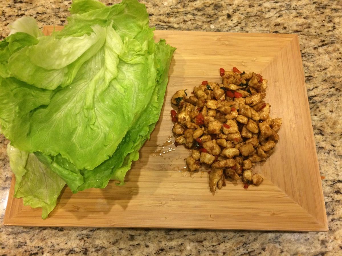 EAT | Chicken LettuceWraps