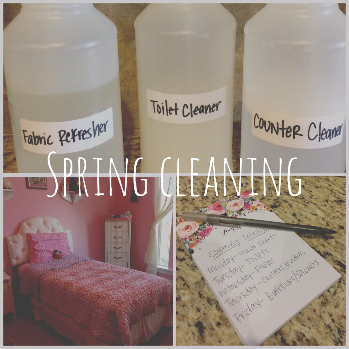 SPRING CLEANING   DIY Household Cleaners   TIPS for a CleanHome