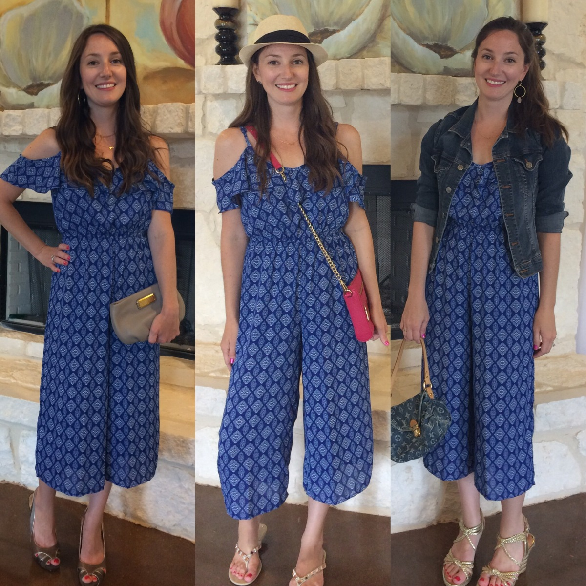 How To Style : Cropped Jumpsuit | 3Ways