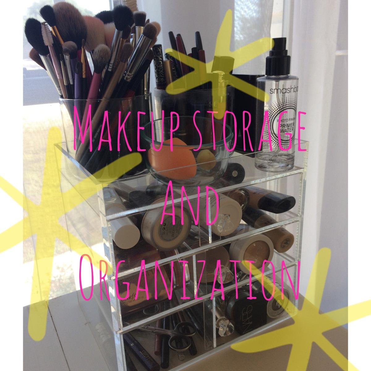 Makeup Storage +Organization