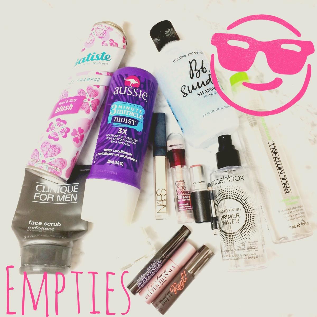 Quarterly EMPTIES | Products I've UsedUp