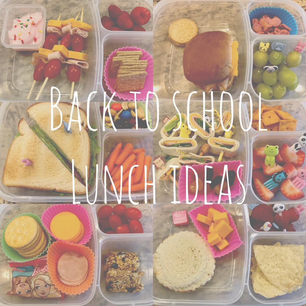 EAT | Back to School Lunch Ideas