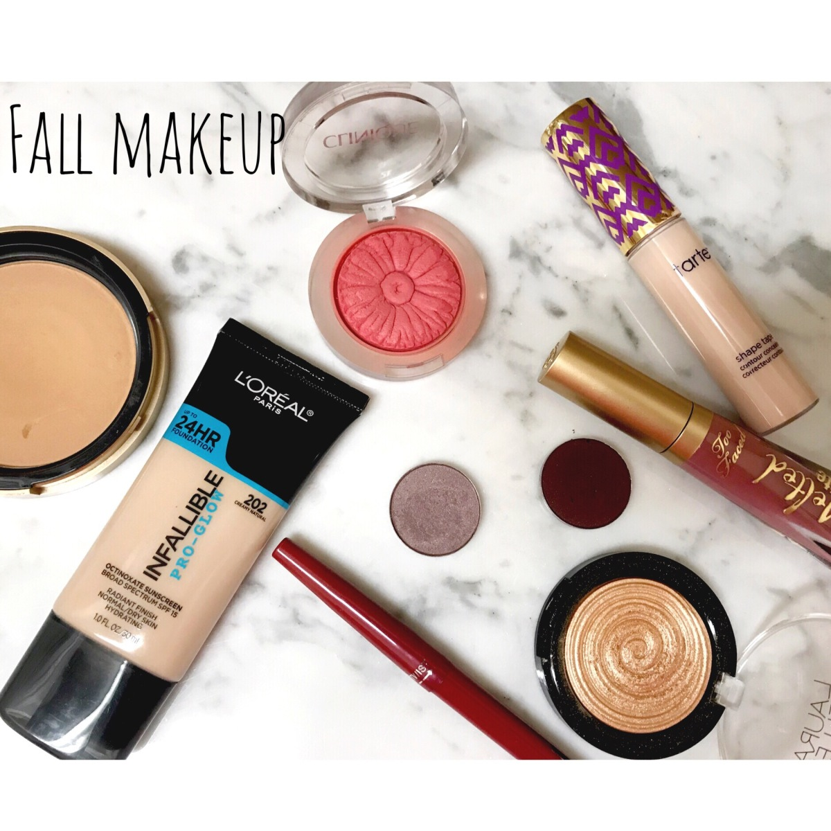 Fall Makeup FAVES