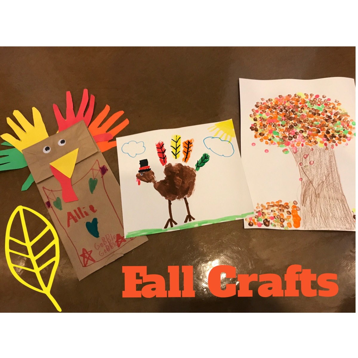 3 Fall Crafts ForKids