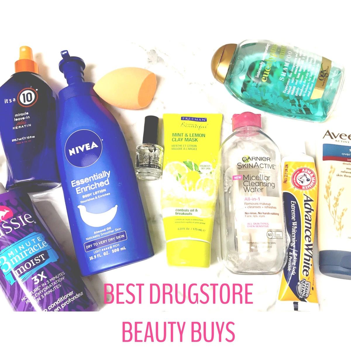 BEST Drugstore BeautyBuys