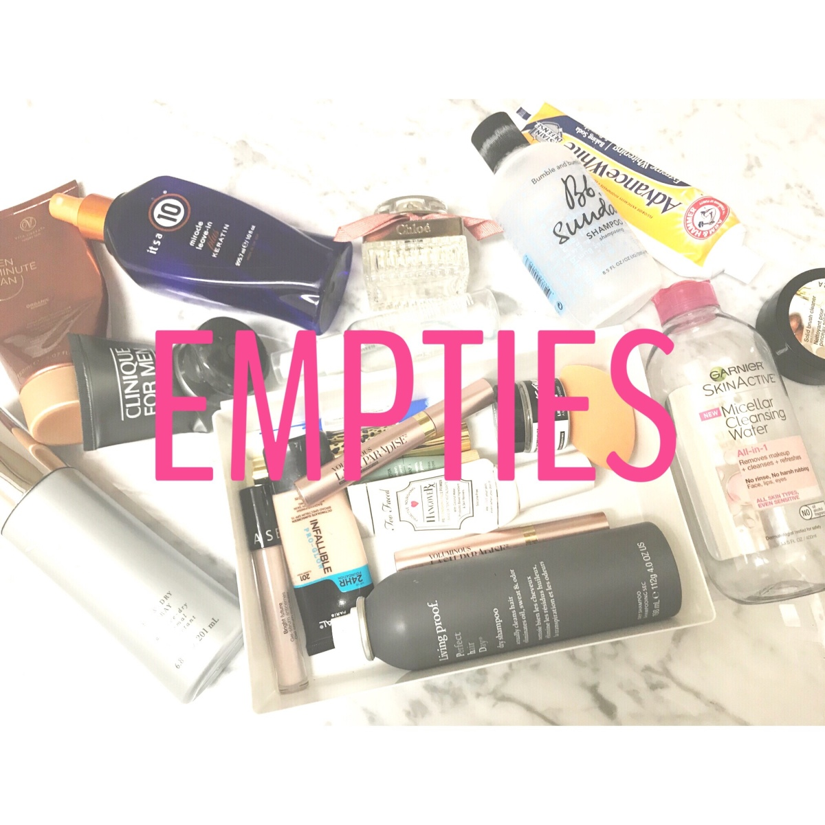 END OF YEAR Empties | END OF NO-BUY