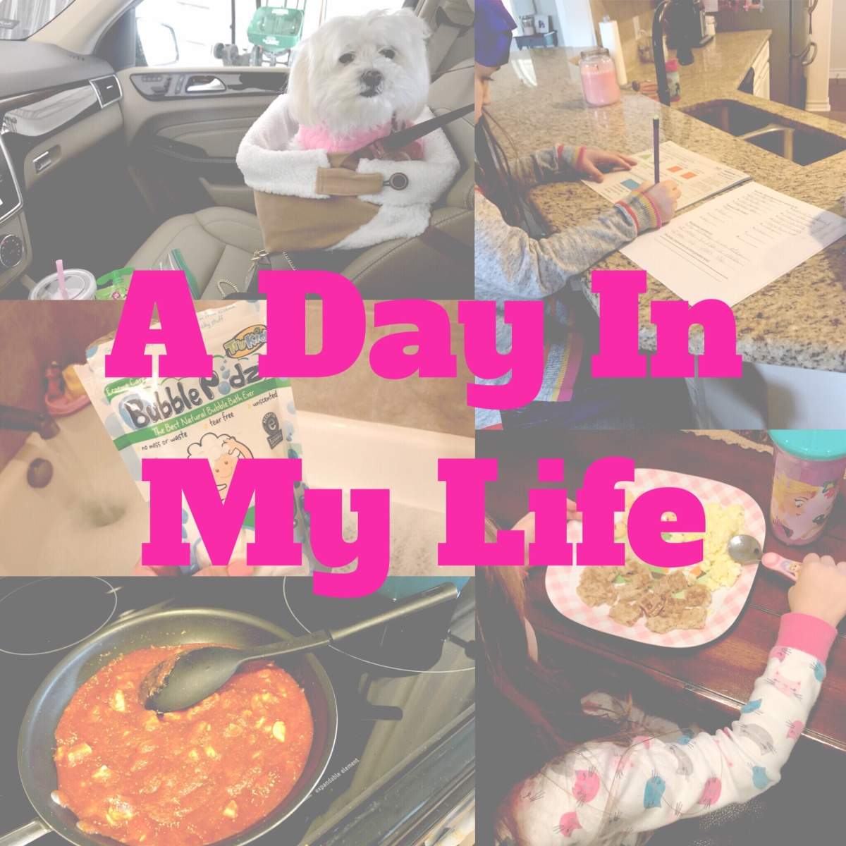 A Day In My Life | Stay at Home Mom to 2 girls