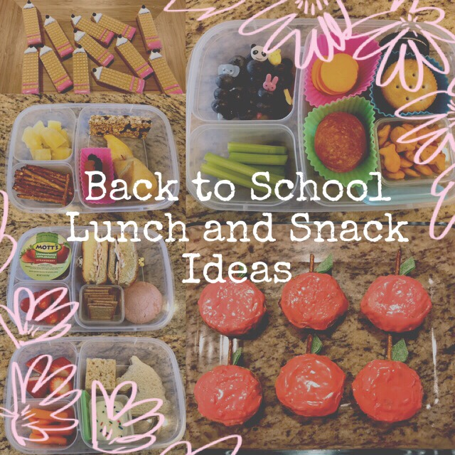 New Blog Name | Back to School Lunch and Snack Ideas!