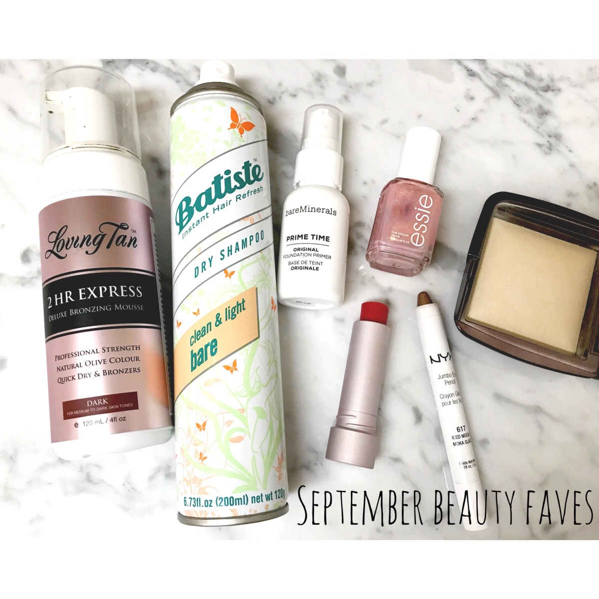 September Beauty FAVES