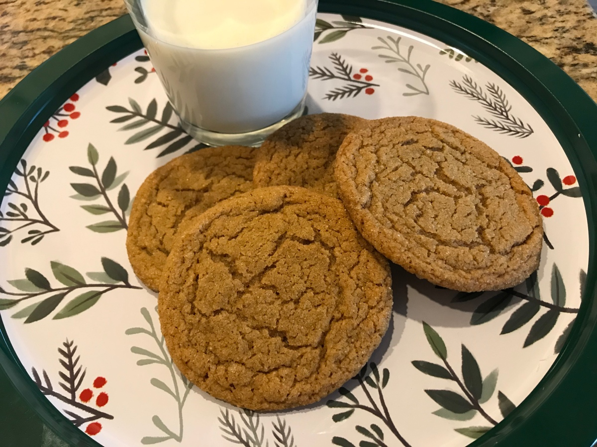 EAT   Ginger Chewies (The BEST ChristmasCookie)