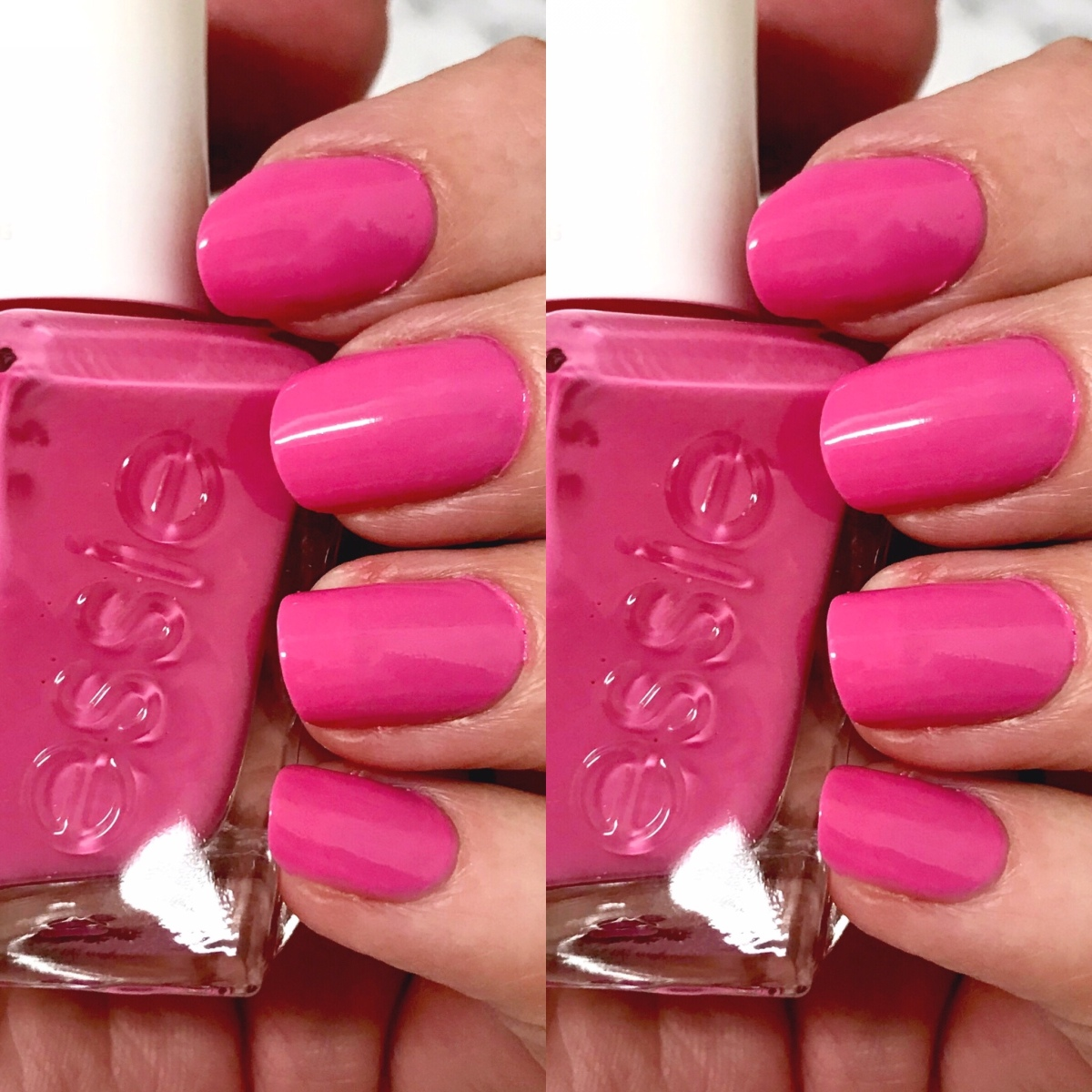 Hot PINK Nails For Summer