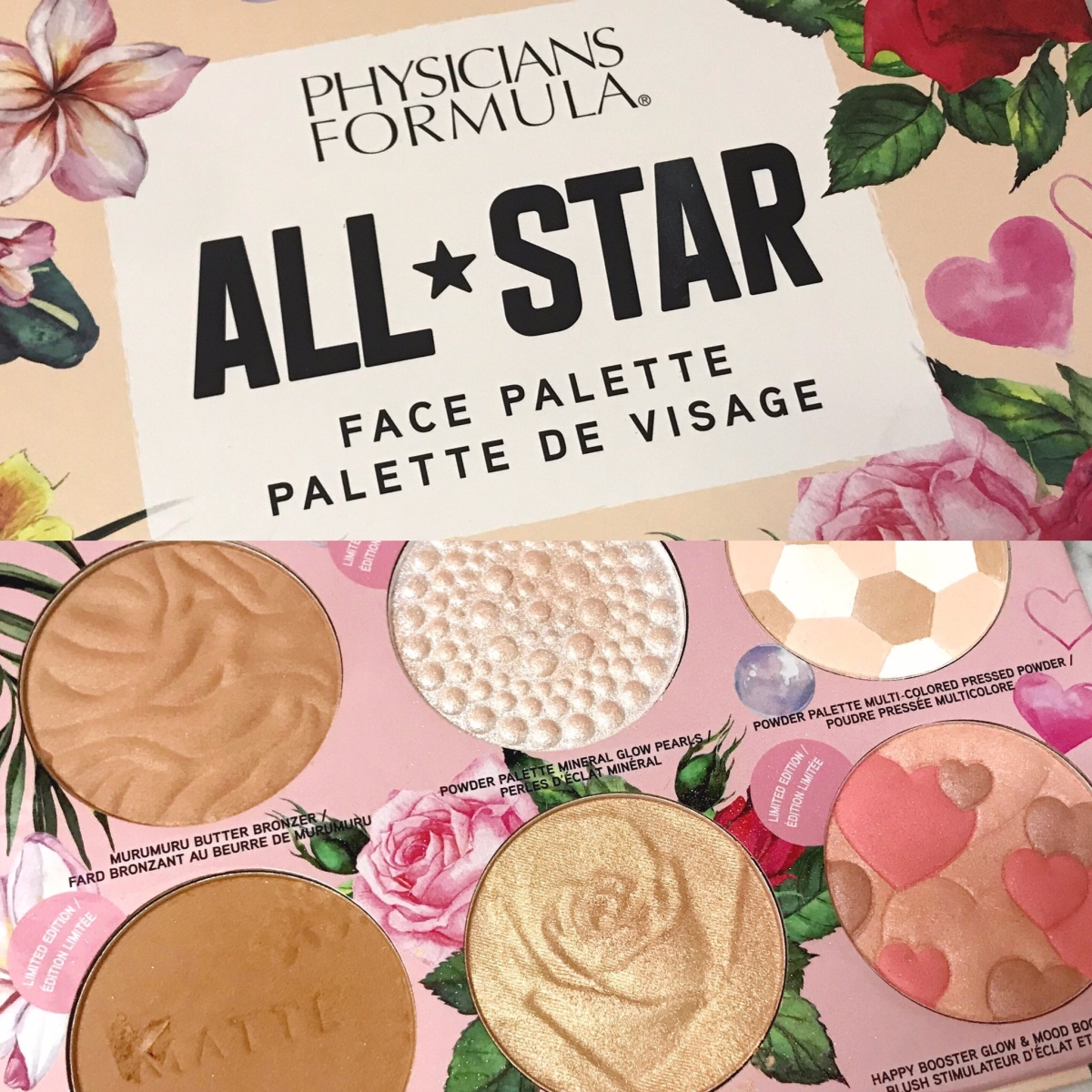 Physicians Formula All-Star Face Palette | Review +Swatches